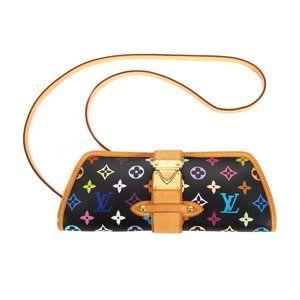 Louis Vuitton Bags - LOUIS VUITTON Multicolor Clutch Black